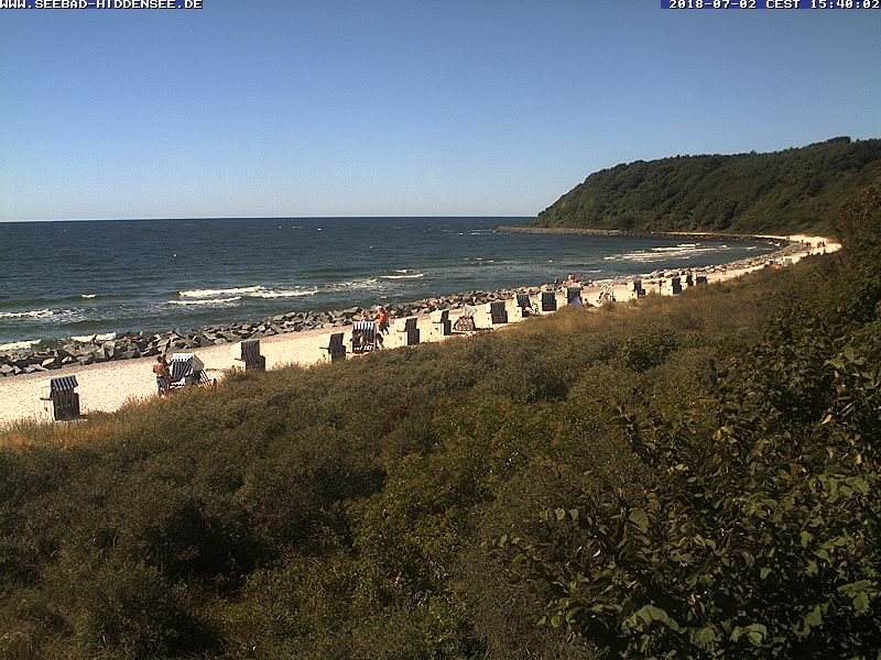 Webcam Hiddensee Strand Hucke